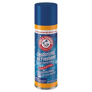 Baking Soda Air Freshener, Light Fresh, 7 oz Aerosol, 12/Carton
