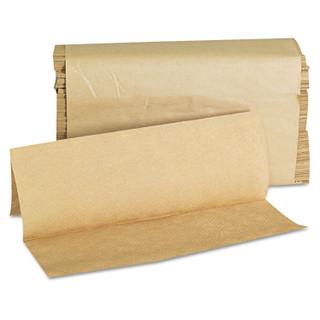 GEN1508 Folded Paper Towels, Multifold, 9 x 9 9/20, Natural, 250 Towels/PK, 16 Packs/CT
