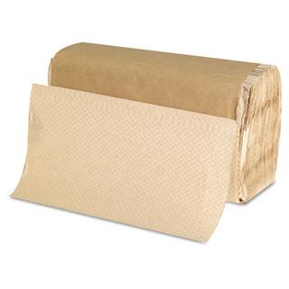 GEN1507 Paper Towels, 9 x 9.5, Natural, 250/Pack, 16 Packs/Carton