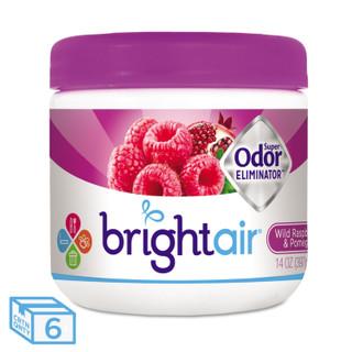 Bright Air Odor Eliminator, Raspberry-Pomegranate, 14 oz, BRI900286CT