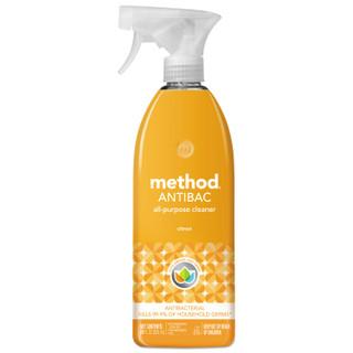 Method Antibac All-Purpose Cleaner, Citron Scent, 28 oz Bottle