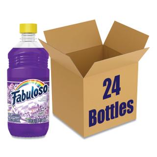 Fabuloso Multi-Use Cleaner, Lavender Scent, 16.9 oz Bottle, 24/Carton
