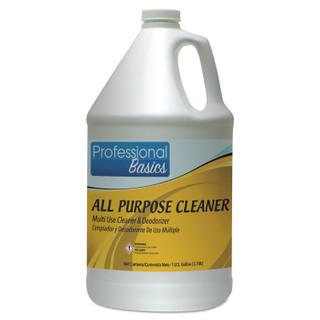 Professional Basics All Purpose Cleaner, Lavender Scent, 1 gal Bottle, 4/Carton