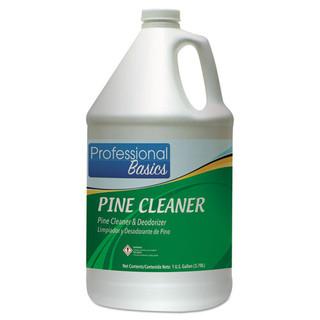 Professional Basics Pine Cleaner, Pine Scent, 1 gal Bottle