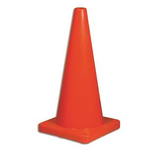 "Honeywell 1617/18 Traffic Cone, 18"" Hi-Viz Orange"