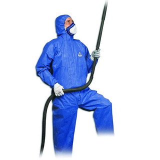 Honeywell 35596/M North Gen PRO Coverall, Blue, 4X-Large