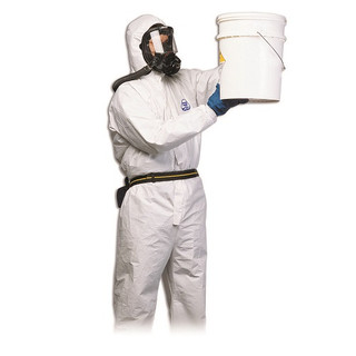 Honeywell 35596W/3XL North Gen PRO Coverall, White, 3X-Large
