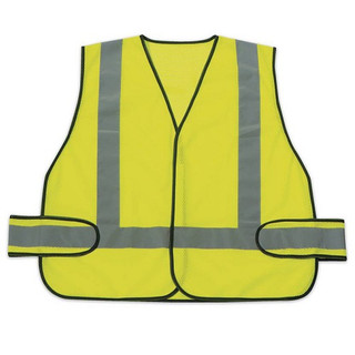 Honeywell RWS50004 High Visibility Lime Green Safety Vest With Reflective Stripes