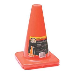 Honeywell RWS50010 12 In. High Visibility Orange Safety/Traffic Cone