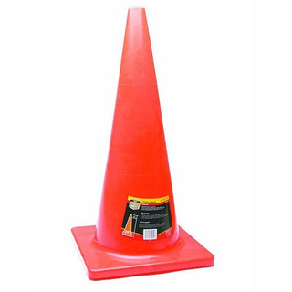 Honeywell RWS50012 28 In. High Visibility Orange Safety/Traffic Cone