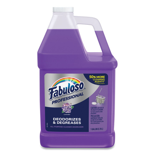 Fabuloso All-Purpose Cleaner, Lavender, 1 gal Bottle, CPC98750