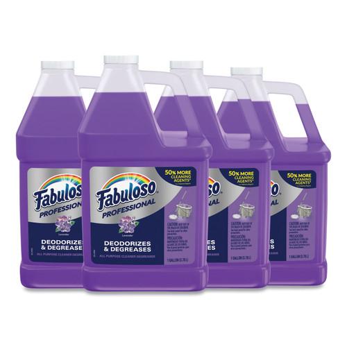 Fabuloso All-Purpose Cleaner, Lavender, 1gal Bottle, 4/Carton, CPC05253