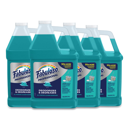 All-Purpose Cleaner, Ocean Cool Scent, 1gal Bottle, 4/Carton
