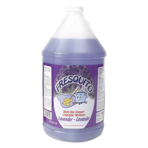 Scented All-Purpose Cleaner, 1gal Bottle, Lavender Scent, 4/Carton