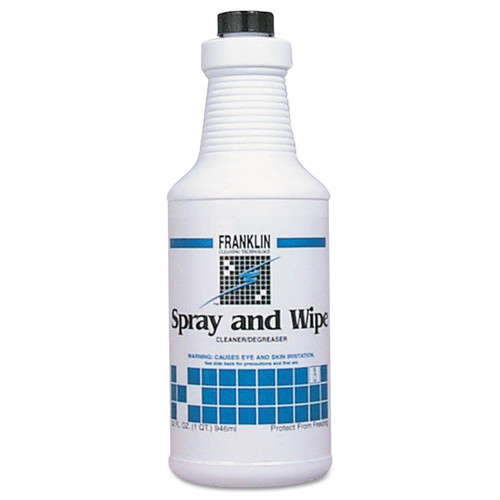 Spray and Wipe All-Purpose Cleaner, Pine Scent, 32 oz Bottle, 12/Carton
