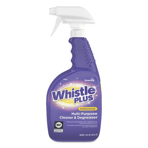 Whistle Plus Multi-Purpose Cleaner and Degreaser, 32oz Bottle, Citrus, 8/Carton