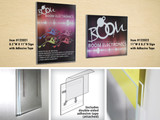 Check Out Azar's Best Selling Wall Mount Sign Holder! Acrylic Sign Holder Vertical or Horizontal Wall Mount With Adhesive Tape.