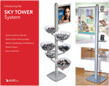The SKY TOWER Retail Display System from Azar