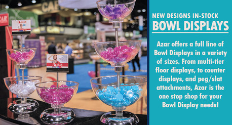 Brand New Bowl Displays - In-stock now!