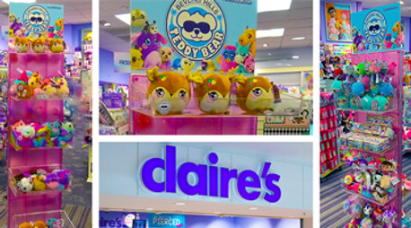 Displays for Cuddly Friends