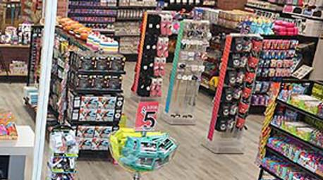 Teen Store Retail Displays