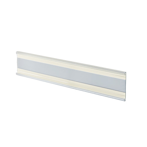 "8.5"" W x 2"" H Adhesive-back Acrylic Wall Nameplate"