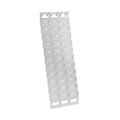 36-Pocket Bifold Wall Mount