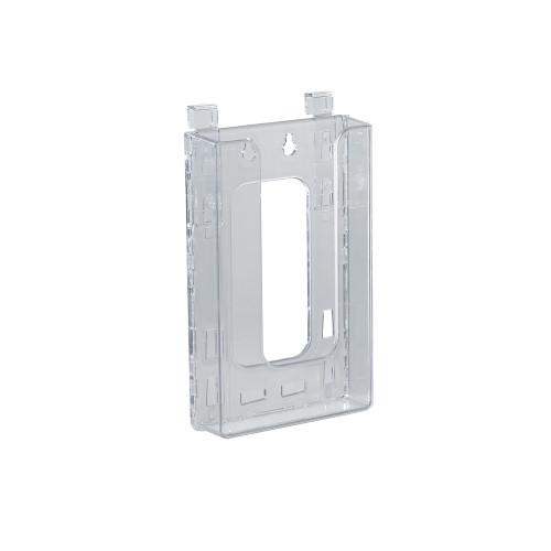 """Hanging Trifold Brochure Holder. Inside Dimension: 4.375""""W"""