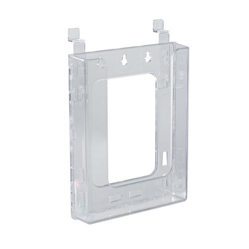 """Slatwall Bifold Brochure Holder. Inside Dimension: 6.125""""W"""