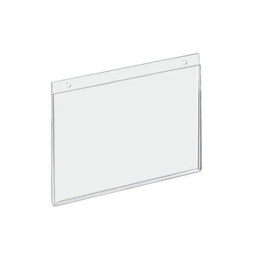 "Clear Acrylic Wall Hanging Frame 11"" Wide  x 8.5'' High- Horizontal/Landscape, 10-Pack"