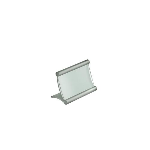 "3.5""W x 2.25""H Curved Metal Frame"
