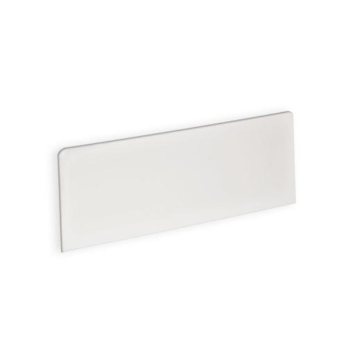 "White Rectangle Header Sign 16""W x 6""H"