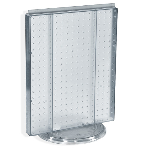 "Revolving 16""W x 20.25""H Pegboard Counter Display"