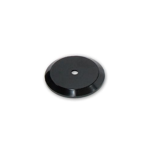 """5"""" Wide Revolving Display Base-SLOPED BLACK"""