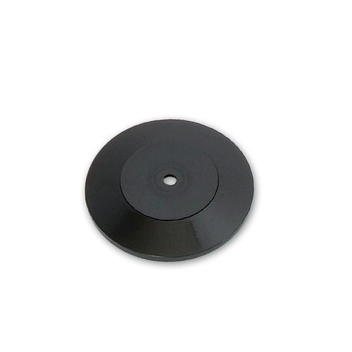 "CLOSEOUT: 7"" Wide Revolving Display Base-SLOPED BLACK"