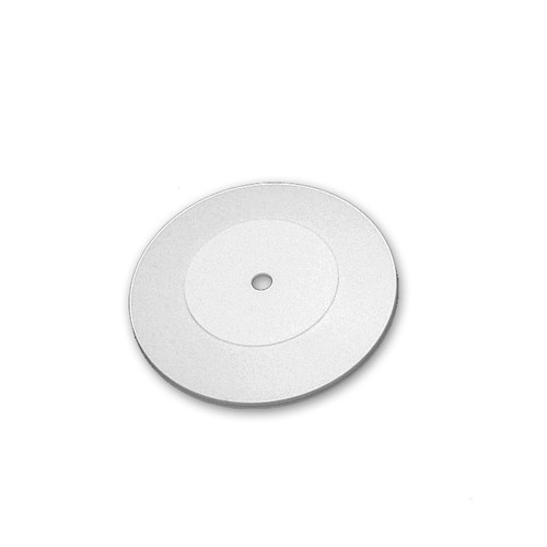 """CLOSEOUT: 7"""" Wide Revolving Display Base-SLOPED WHITE"""