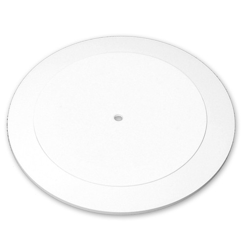 "14.5"" Wide Revolving Display Base-SLOPED WHITE"