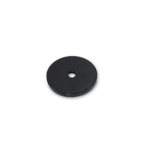 "4"" Wide Revolving Display Base-FLAT BLACK"