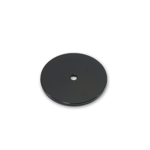 "6"" Wide Revolving Display Base-FLAT BLACK"