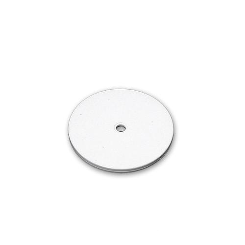 "6"" Wide Revolving Display Base-FLAT WHITE"