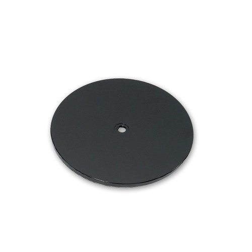 "9"" Wide Revolving Display Base-FLAT BLACK"