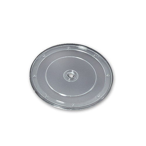 """9"""" Wide Revolving Display Base-FLAT CLEAR"""