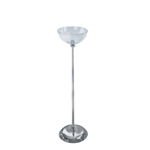 "10"" Diameter Single Bowl Floor Display"