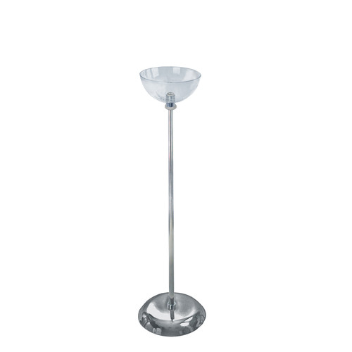 "8"" Diameter Single Bowl Floor Display"