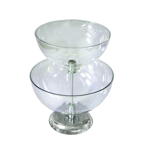 "Two-Tier 12"" & 14"" Bowl Counter Display"