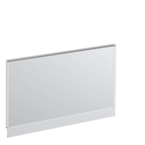 """7""""W x 5""""H Acrylic Sign holder for T-sign Holder"""