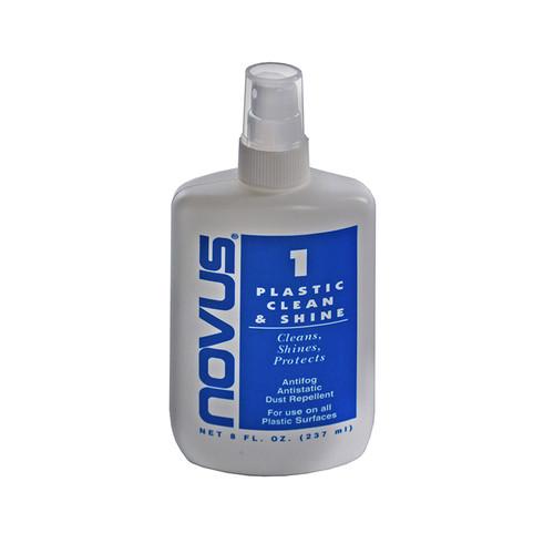 Blue Label. 8oz. Plastic Clean & Shine