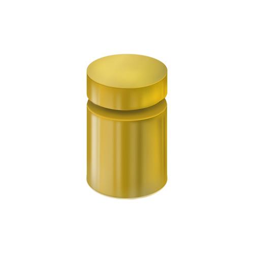 """1"""" Diameter Standoff Gold Cap Hardware"""