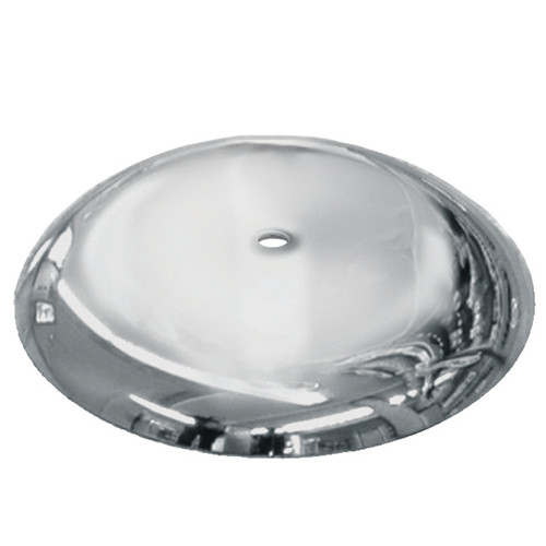 "15"" Round metal base with 7/8"" thread"
