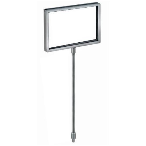 "Bowl Sign Holder 7""W x 5.5""H w/ 14"" pole"